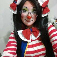 Clown Pics, Cute Clown, Female Clown, Clowning Around, Folk, Clowns, Lady, Girls, Pictures