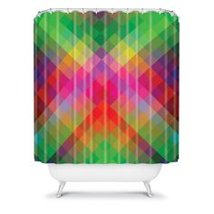 Fimbis Ginko Shower Curtain #DenyDesigns