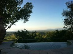 Villa Cicolina (Montepulciano) - infinity pool and Jacuzzi