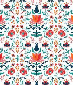 Folk art vector pattern tutorial http://design.tutsplus.com/tutorials/how-to-design-a-colorful-hungarian-folk-art-pattern-in-adobe-illustrator--cms-26426?scid=social_20160607_62459686&adbid=740207961557999619&adbpl=tw&adbpr=23822236