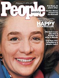 Feb 17, 1975 Vol. 3 No. 6 Happy Rockefeller