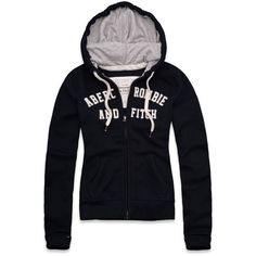 Abercrombie & Fitch Lizzy Hoodie (65 AUD) ❤ liked on Polyvore featuring tops, hoodies, jackets, abercrombie & fitch, outerwear, hooded zip sweatshirt, hooded pullover, drawstring hooded pullover, abercrombie fitch hoodie and zipper hoodie
