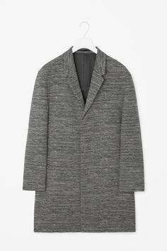 COS   Oversized jacquard coat