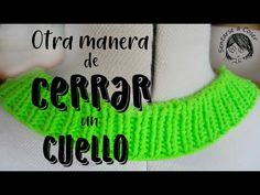 Sentarse a Coser: Vídeo Tutorial: Cómo rematar el cuello de un jersey tejido Drink Sleeves, Techno, Knitting, Crochet, Tips, Youtube, Tutorials, Knit Sweaters, Knitting Patterns