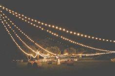 Santa Margarita Ranch Wedding: Sydney + Adam - instead of stringing lights back and forth, send them out from one focal point Wedding Pics, Wedding Bells, Wedding Events, Wedding Styles, Wedding Ideas, Tent Wedding, Wedding Reception, Festival Woodstock, Santa Margarita