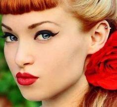 Cómo maquillarse estilo pin up