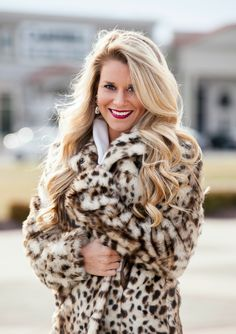 Leopard Goddess Coat #JessLeaBoutique