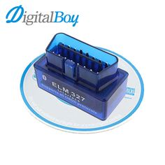 Car Diagnostic Scan Tool OBD2 OBDII ELM327 Mini Bluetooth V2.1 Car Diagnostic Tester Trip Computer Tracking Code