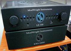 ModWright Instruments amp and preamp
