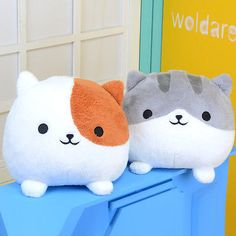 Japanese Game Neko Atsume Cat Backyard Anime Cute Cat Plush Doll Toy Gift Big in Collectibles,Animation Art & Characters,Japanese, Anime | eBay