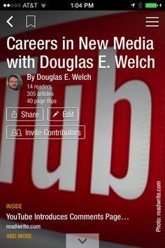 Read Careers in New Media via Flipboard