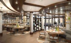 SHARE by Curtis Stone Rendering ~ Princess Cruises Announces New SHARE by Curtis Stone Specialty Restaurant | Popular Cruising (Image Copyright © Princess Cruises)