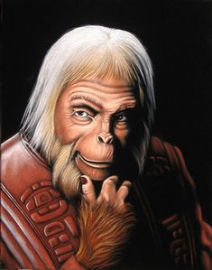 """Planet Of The Apes"" - Maurice Evans as Dr. Zaius"