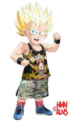 "Crunchyroll - ""Dragon Ball Z"" Meets Streetwear Again in 3rd Human Aliens Mash-up"