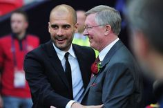 Guardiola was Ferguson's first choice to replace him