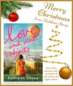 Y 9 of our Book Gifts Christmas Advent Calendar - Love and Other Subjects by @kathieshoop
