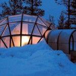 aldea de los iglús , finlandia