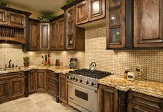Rustic Kitchen Cabinets | Love, love, love these Kitchen cabinets!! Sooo rustic!! | home ideas
