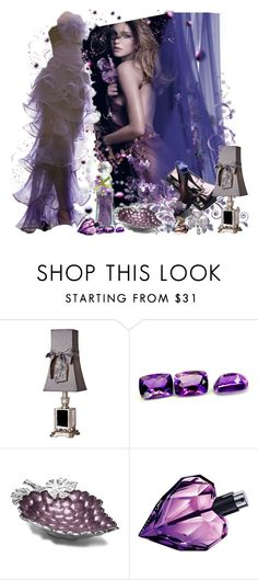 """""""MIDNIGHT MAUVE"""" by tupac4eva ❤ liked on Polyvore featuring Julia Knight, Diesel, Pasquale Bruni, purple heels, mauve and violet"""