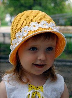 Inspirabiate: Bonito gorro de nena