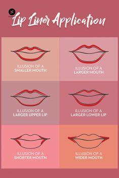 Maquillage Yeux Cut Crease, Maquillage Black, Contour Makeup, Skin Makeup, Beauty Makeup, Lip Contouring, Women's Beauty, Luxury Beauty, Makeup Hacks Lips