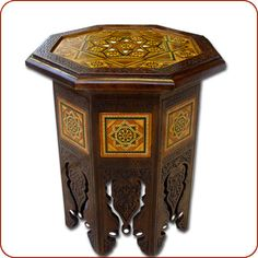 Moroccan corner table, moroccan furniture