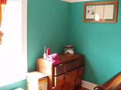 "Paint Color: Benjamin Moore ""Aruba Blue"""