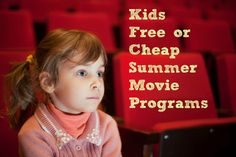 Kids Free Summer Mov
