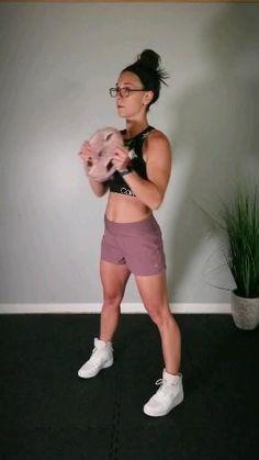 Full Body Workout At Home, Home Workout Videos, Gym Workout Tips, Dumbbell Workout, At Home Workouts, Workout Circuit, Workout Plans, Beginner Dumbell Workout, Beginner Pilates