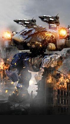 Power Rangers, Robot Wallpaper, Military Robot, Battle Robots, 40k Imperial Guard, Space Fantasy, Lego War, Robot Concept Art, God Of War