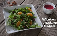 Winter Cranberry Salad