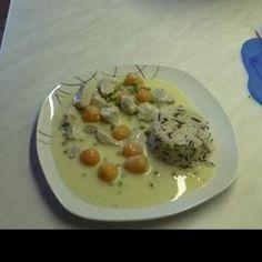 Rezept Hühnerfrikassee *All in One* von Thermiangel Oberlausitz - Rezept der Kategorie Hauptgerichte mit Fleisch
