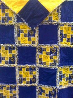 Wvu Quilt Quilts I Ve Made Quilted Wall Hangings