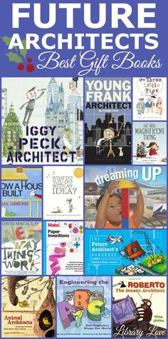 Find a teacher-librarian curated list of fantastic kids books that will inspire your child to create, design, build and invent! These books make perfect gifts for future architects and engineers. #STEAMChristmas Kids Learning Activities, Teaching Science, Educational Activities, Teaching Kids, Preschool Literacy, Kindergarten, Best Children Books, Childrens Books, Teacher Librarian