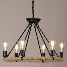 This 1-tier or 2-tier light will works well in your living room and kitchen or over dining table.