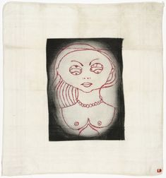 Louise Bourgeois. Insomnia. 2001  Drypoint, with hand additions