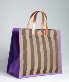 Ashlees Loves: Fendi Bender info @ashleesloves.com #Fendi #purple #brown #Logo #StripeCanvas #tote #bag #handbag #women's #designer #fashion #style