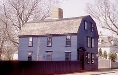 The Almy-Taggart House (ca. 1710) was purchased by the NRF in 1973, and underwent restoration in 1975. There were several owners in the mid-eighteenth century, so it's unknown who enlarged the home.