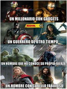 Thor y aquaman usan pantene xd xd Funny Marvel Memes, Dc Memes, Avengers Memes, Funny Memes, Marvel Dc Comics, Marvel Heroes, Marvel Avengers, Superhero Memes, Best Memes