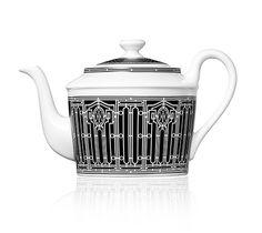 Hermès H Déco ea pot for 6 tea cups, black, 30 fl. oz.