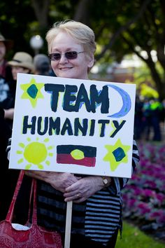 """Me!  March in August 2014 """"March Australia"""" in Sydney"""