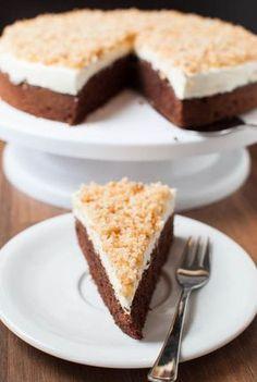 Sägespäne-Torte mit selbstgemachter Creme