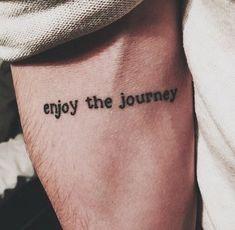 Tradução: Aproveite a viagem.