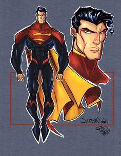 Superman Sketch 001 by RobDuenas on DeviantArt