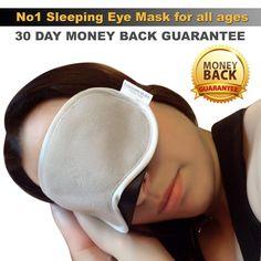 Eye Masks For Sleeping Best Mini Bag Mask Earplugs Set with How To Sleep Well Every Night Apnea Aid e-Book (Travel Inflatable Neck Support Pillow Optional) Good Sleep, Sleep Well, Dream Mask, Neck Support Pillow, Ear Plugs, Mini Bag, Uk Health, Black Silk, Luxury