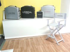 Instant Pics From Our Show Room In S. Marino: Cantoni Personalized Cases  And. Hair StationsMakeup ChairLancomeShowroom