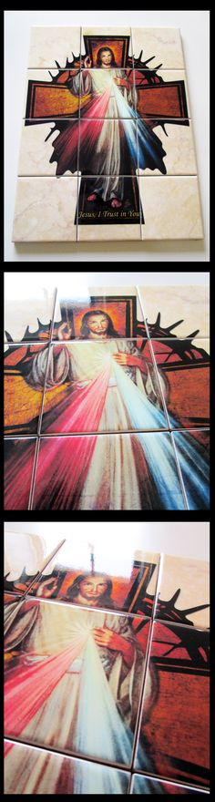 My new #catholic wall art - #Jesus of #divine mercy - Available now on Etsy - US$ 99 shipping included