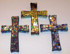 Pretty Mosaic Crosses