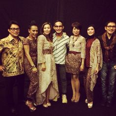 My batik for Elfas at 10 years Java jazz 2014