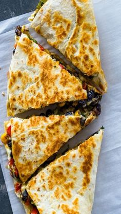 Southwest Veggies Quesadillas Recipes | Homemade Recipes